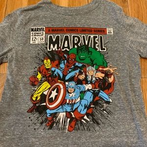 Marvel Comics themed tee size 4t